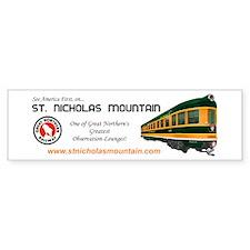 St. Nicholas Mountain Bumper Bumper Sticker