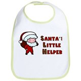 Santa's Little Helper Bib