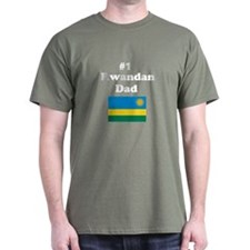 #1 Rwandan Dad T-Shirt