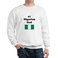 #1 Nigerian Dad Sweatshirt