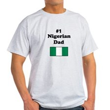 #1 Nigerian Dad T-Shirt