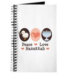 Peace Love Hanukkah Chanukah Journal