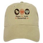 Peace Love Hanukkah Chanukah Cap