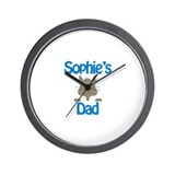 Sophie's Dad Wall Clock