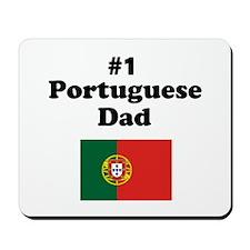 #1 Portuguese Dad Mousepad