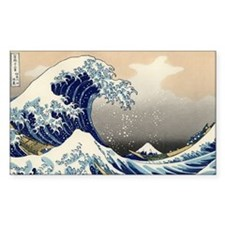 The Great Wave off Kanagawa Decal
