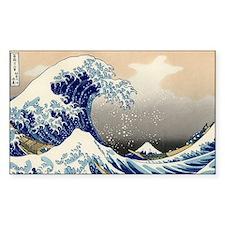 The Great Wave off Kanagawa Decal