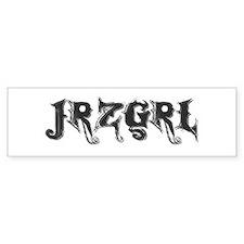 JRZGRL (Jersey Girl) Bumper Bumper Sticker