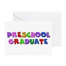 Preschool graduate Greeting Cards (Pk of 10)