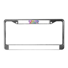 Preschool graduate License Plate Frame
