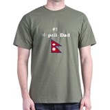 #1 Nepal Dad T-Shirt
