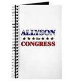 ALLYSON for congress Journal