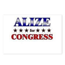 ALIZE for congress Postcards (Package of 8)