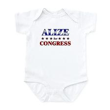 ALIZE for congress Infant Bodysuit