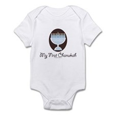 My First Chanukah Hanukkah Infant Onesie
