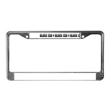 Block CEO License Plate Frame