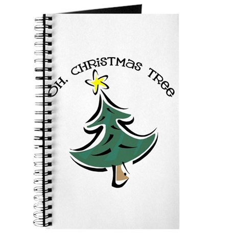 Oh Christmas Tree Journal