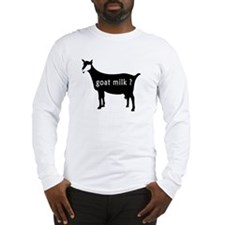 goat milk ? Long Sleeve T-Shirt