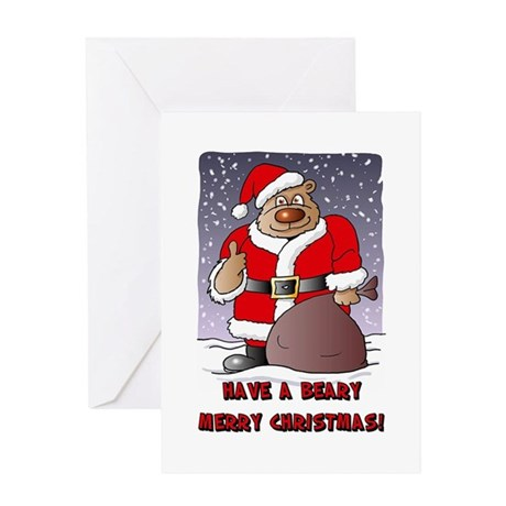 Beary Merry Christmas Greeting Card