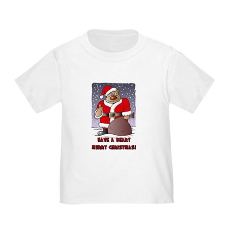 Beary Merry Christmas Toddler T-Shirt