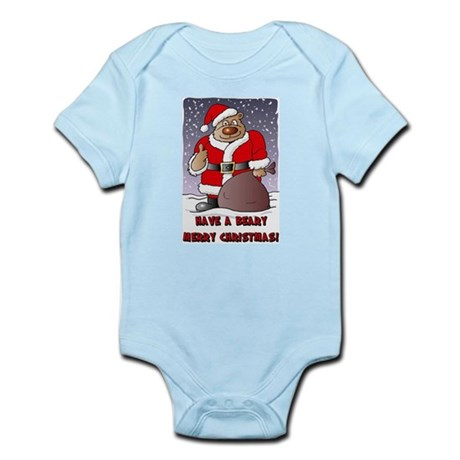Beary Merry Christmas Infant Bodysuit