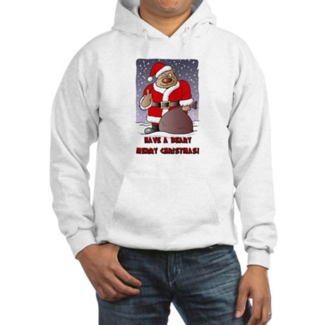Beary Merry Christmas Hooded Sweatshirt