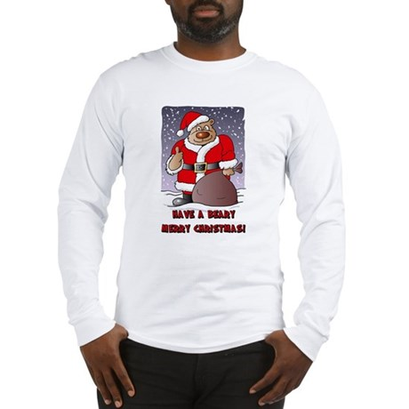 Beary Merry Christmas Long Sleeve T-Shirt
