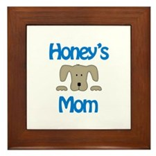 Honey's Mom Framed Tile