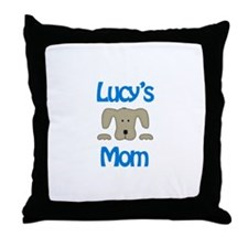 Lucy's Mom Throw Pillow