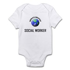 World's Greatest SOCIAL WORKER Infant Bodysuit