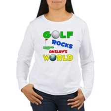 Golf Rocks Ansley's World - T-Shirt