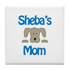 Sheba's Mom Tile Coaster