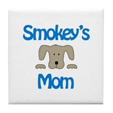 Smokey's Mom Tile Coaster