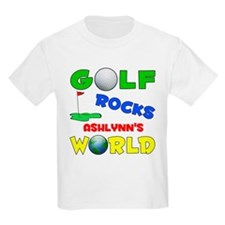 Golf Rocks Ashlynn's World - T-Shirt