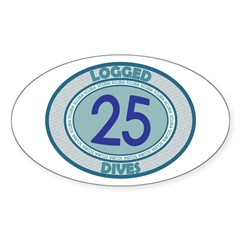 http://i1.cpcache.com/product/189560434/25_logged_dives_oval_decal.jpg?color=White&height=240&width=240