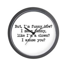 Funny How Wall Clock