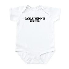 TABLE TENNIS Legend Infant Bodysuit