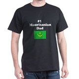 #1 Mauritanian Dad T-Shirt