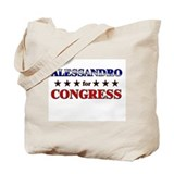 ALESSANDRO for congress Tote Bag