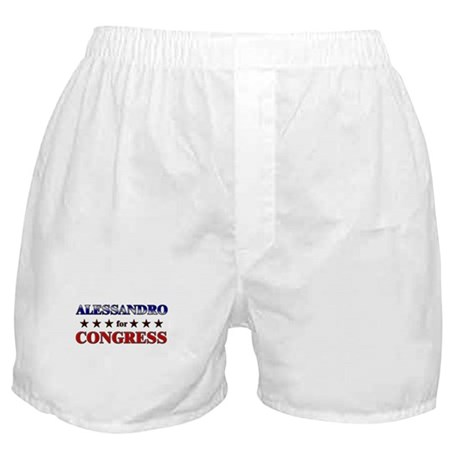 ALESSANDRO for congress Boxer Shorts
