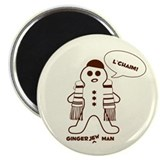 "Gingerjew Man 2.25"" Magnet (10 pack)"