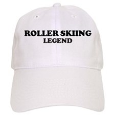 ROLLER SKIING Legend Baseball Cap