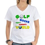 Golf Rocks Chana's World - Shirt