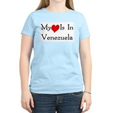 My Heart Is In Venezuela T-Shirt