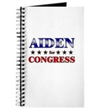 AIDEN for congress Journal