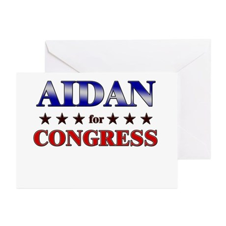 AIDAN for congress Greeting Cards (Pk of 20)