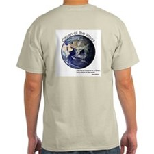 Citizen of the World T-Shirt with Socrates quote.