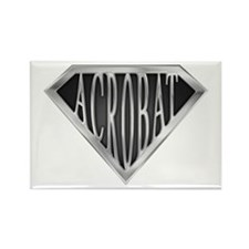 SuperAcrobat(metal) Rectangle Magnet (10 pack)