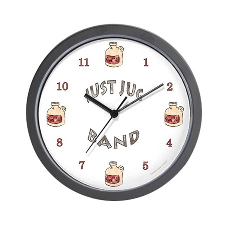 Just Jug Band Wall Clock