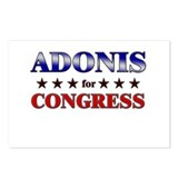 ADONIS for congress Postcards (Package of 8)